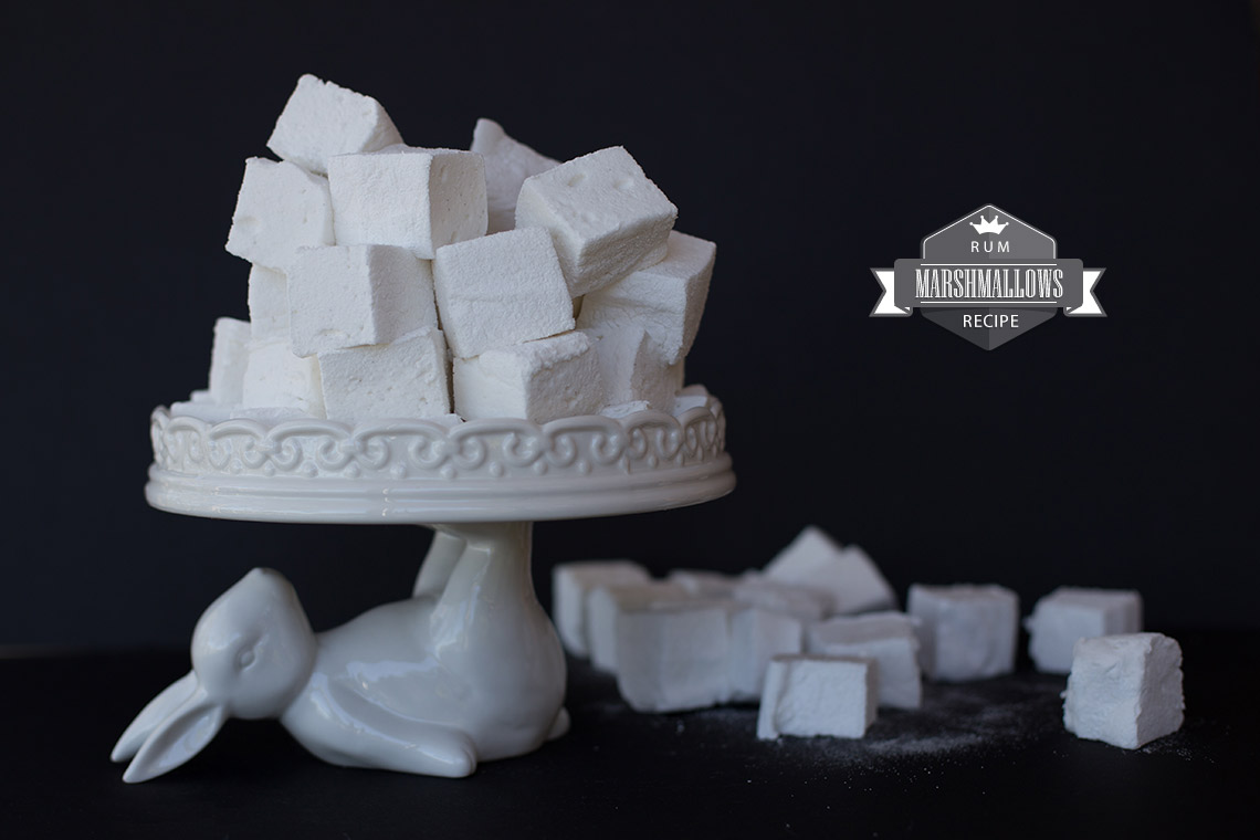 Rum marshmallow recipe - easy and delicious on TheFloShow.com