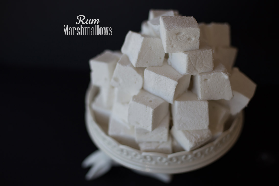 Rum marshmallows simple recipe, all the tricks of the trade on TheFloShow.com