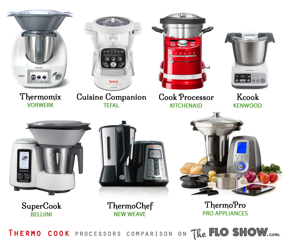 Compare thermo appliances in 1 table for Kitchen appliance comparison sites