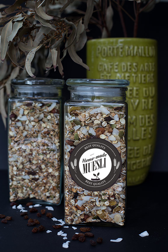 Make your own healthy muesli - all natural on www.TheFloShow.com