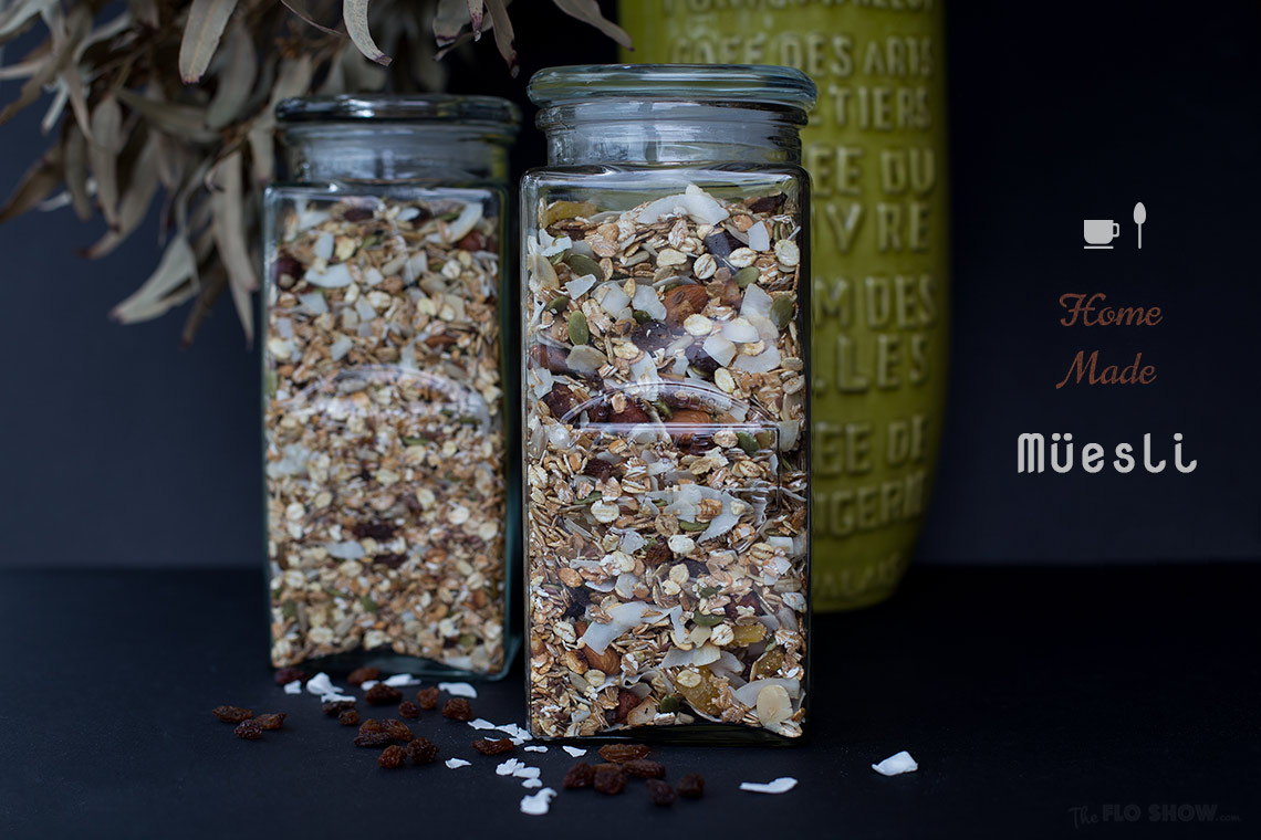 Make your own healthy muesli with no nasties on www.TheFloShow.com