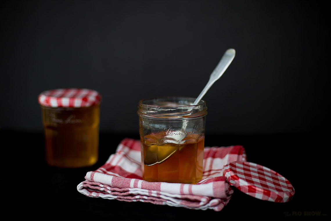 Quince jelly gorgeous recipe fom my Grand-mother Mam on www.TheFloShow.com