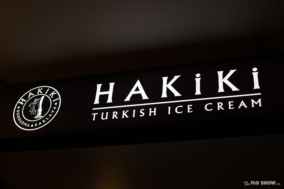 Restaurant review - Hakiki the real Turkish Ice-cream in Newtown -  - see on www.TheFloShow.com