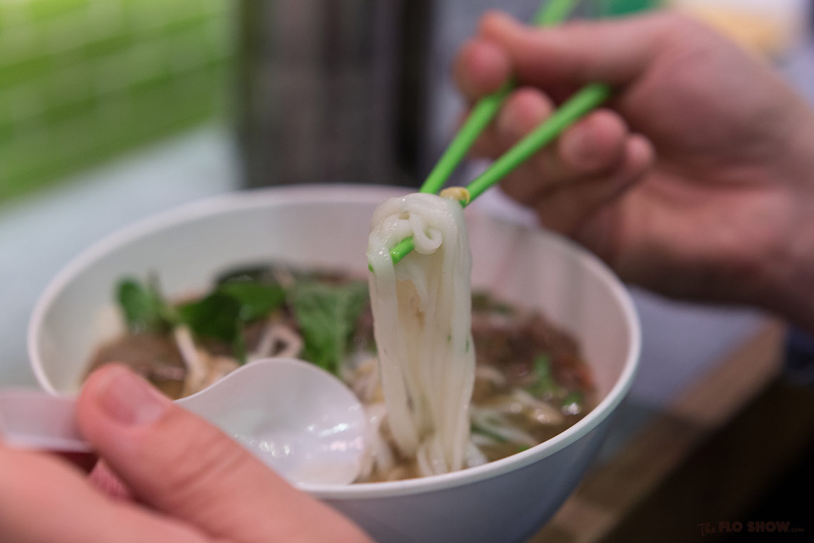 Restaurant review - Miss Chu in Sydney - Try the deliciously flavoursome Pho - see on www.TheFloShow.com