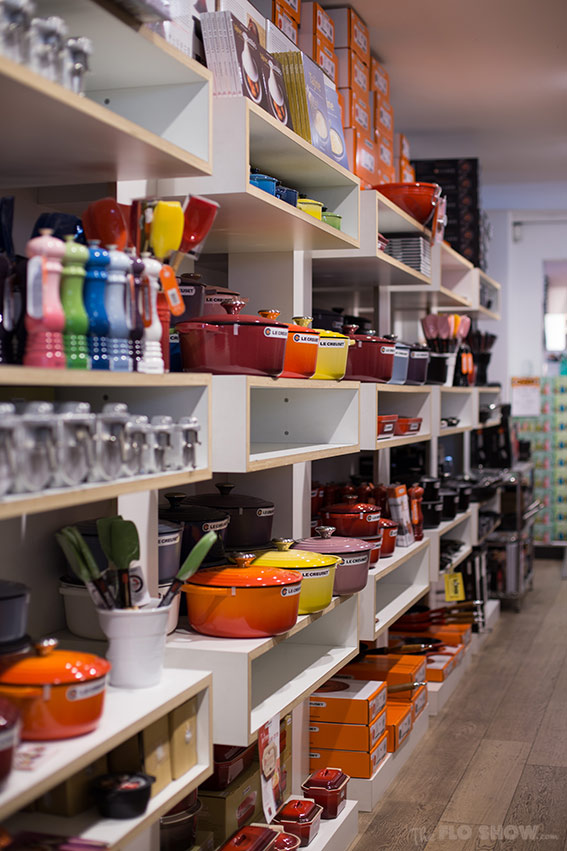 Antwerp Kookhuis - the cast iron and pots department on www.TheFloShow.com