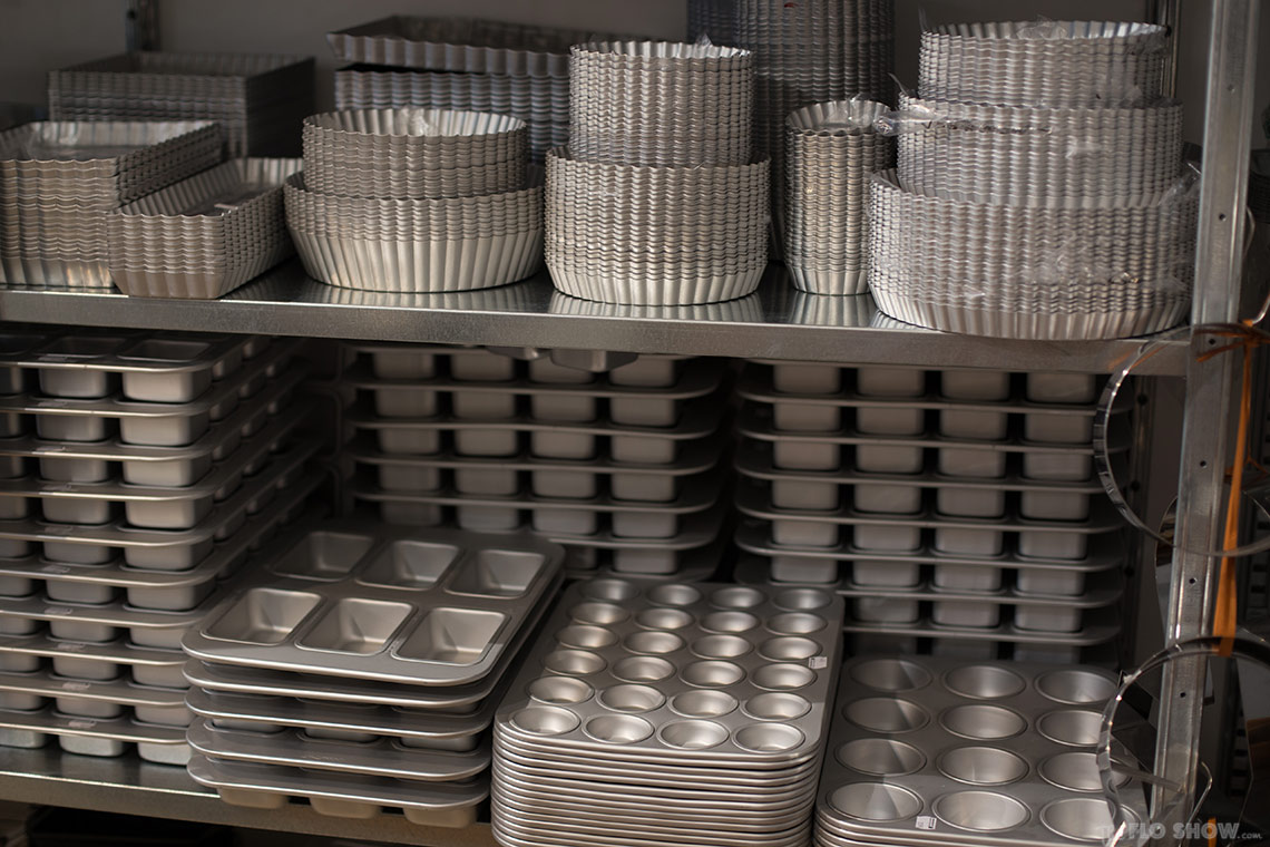 Antwerp Kookhuis - the classic metal moulds department on www.TheFloShow.com