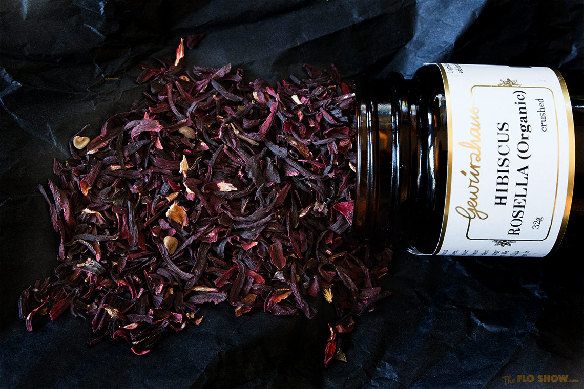 Fine quality spices at Gewurzhaus in Melbourne - Hibiscus Rosella on www.TheFloShow.com