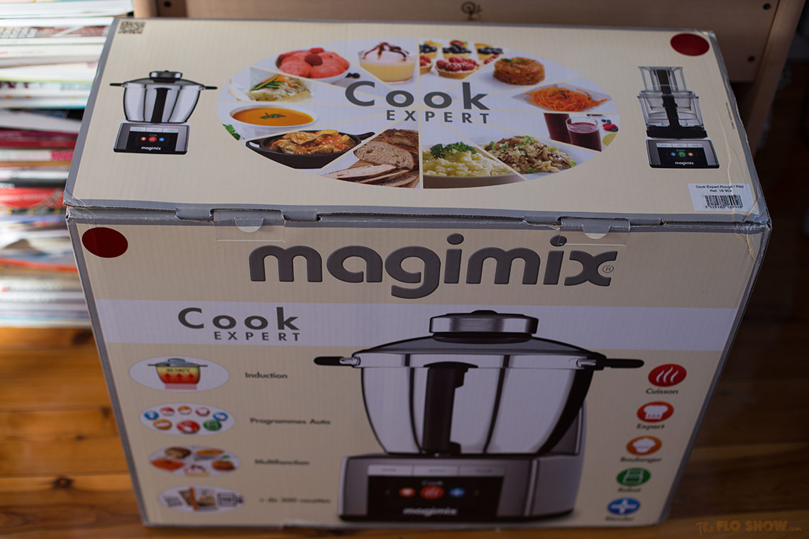 Magimix Cook Expert - the box - on www.TheFloShow.com