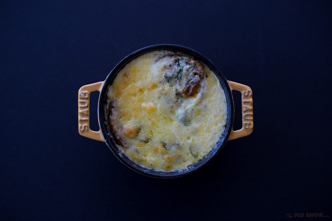 Eggs cocotte recipe - a French egg specialty on www.TheFloShow.com