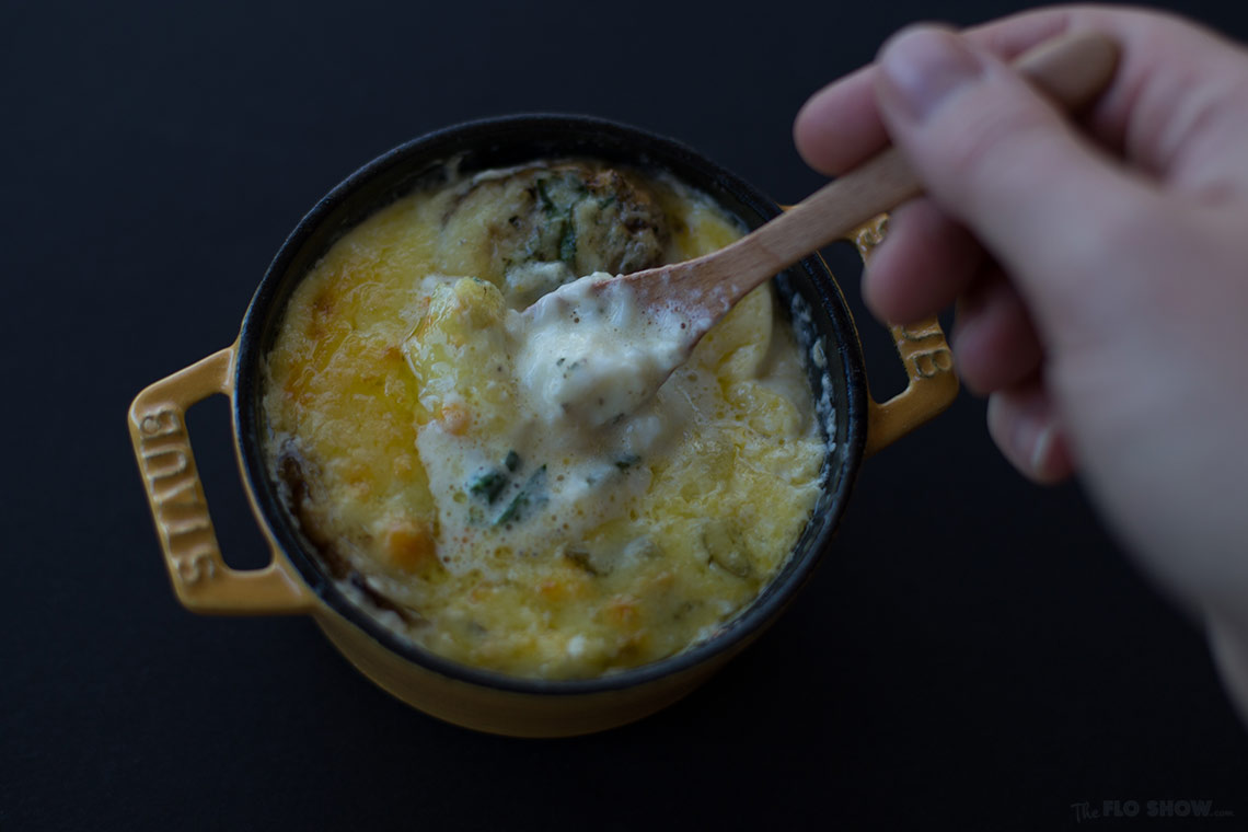 Eggs cocotte recipe - sooo delicious on www.TheFloShow.com