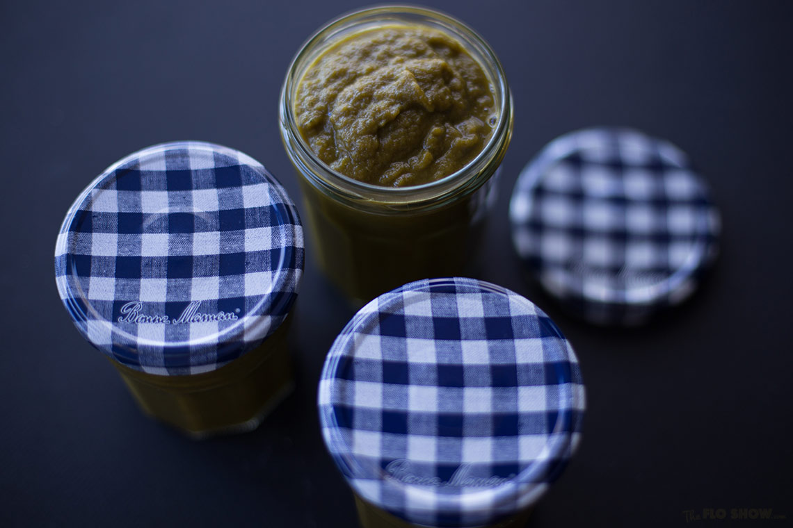 Home-made vegetable stock - keep it in a jar in the fridge on www.TheFloShow.com