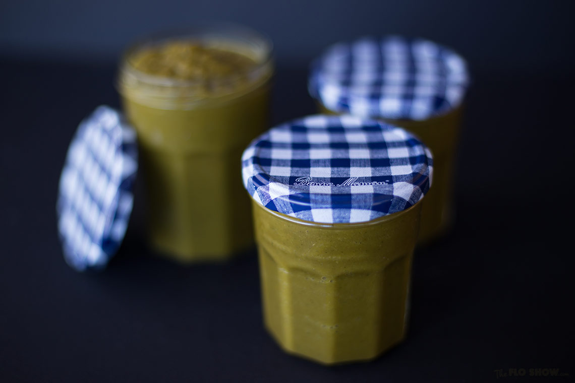 Home-made vegetable stock - keep it in a jar on www.TheFloShow.com
