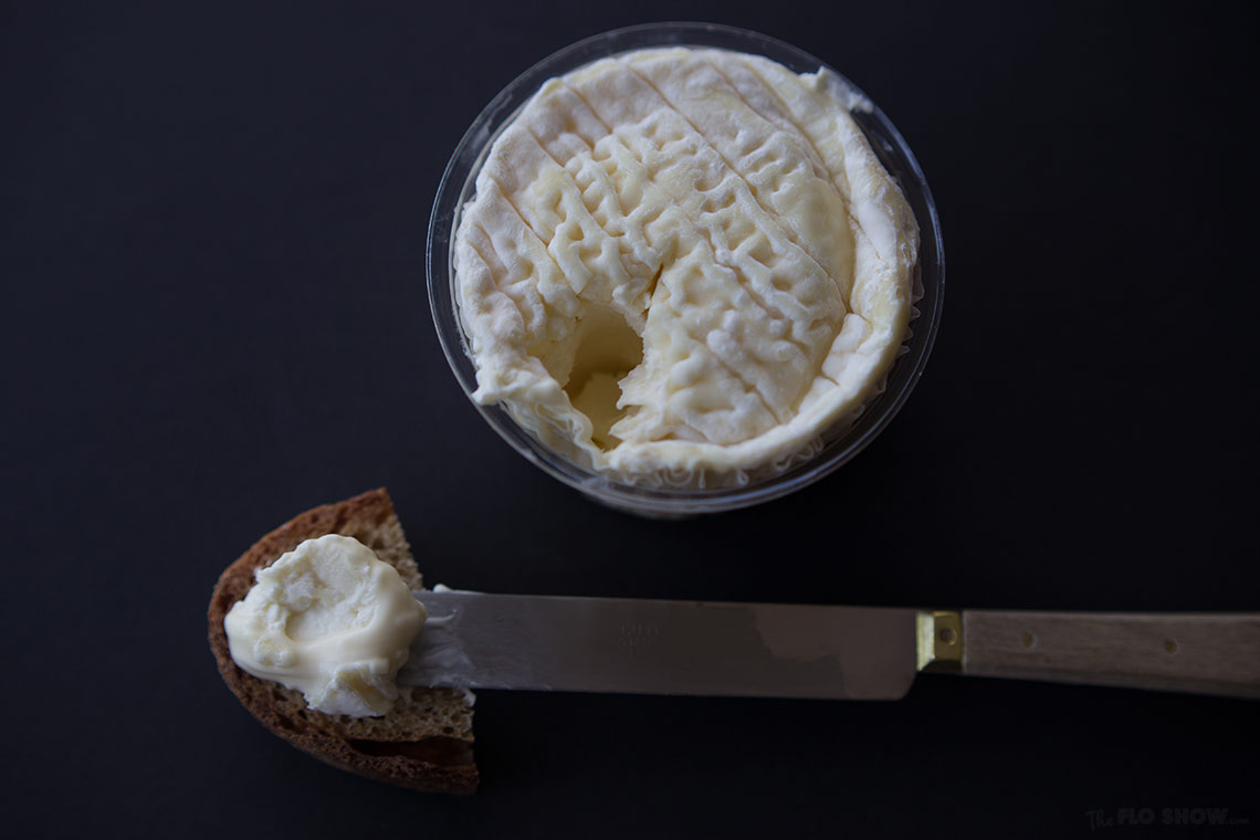 La Tur fromaggio - a fantastic Italian cheese - review on www.TheFloShow.com