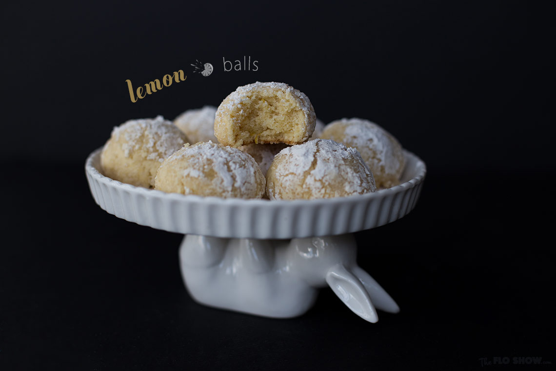 Lemon balls with moist center - they are delicious and moist on www.TheFloShow.com