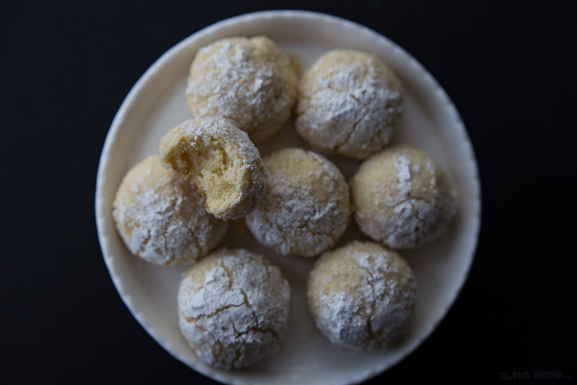 Lemon balls with moist center - they are delicious try them on www.TheFloShow.com