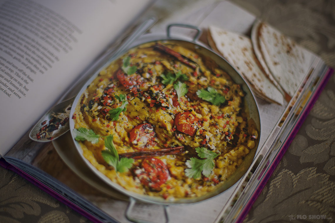 Secrets from my Indian family kitchen by Anjali Pathak - exquisite dahl on www.TheFloShow.com .jog