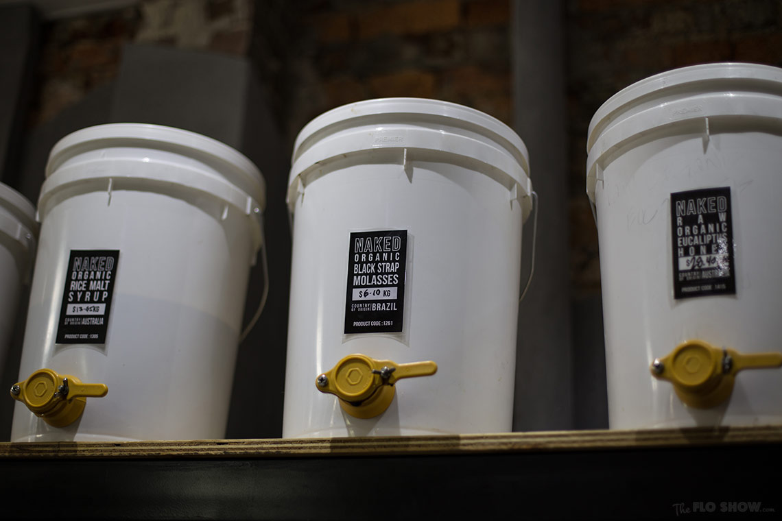 Store review - Naked Food in Newtown - liquid ressources in bulk on www.TheFloShow.com