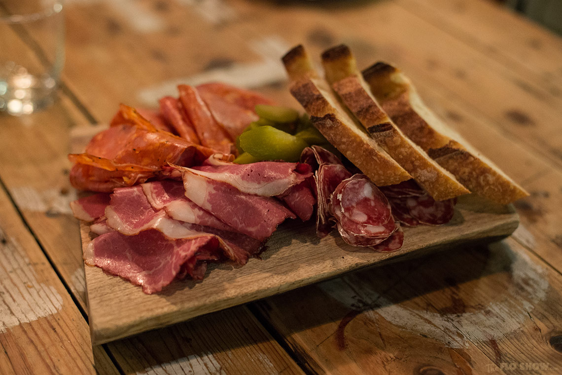 The Stinky Bishops in Newtown - cold meat or charcuterie platter on www.TheFloShow.com