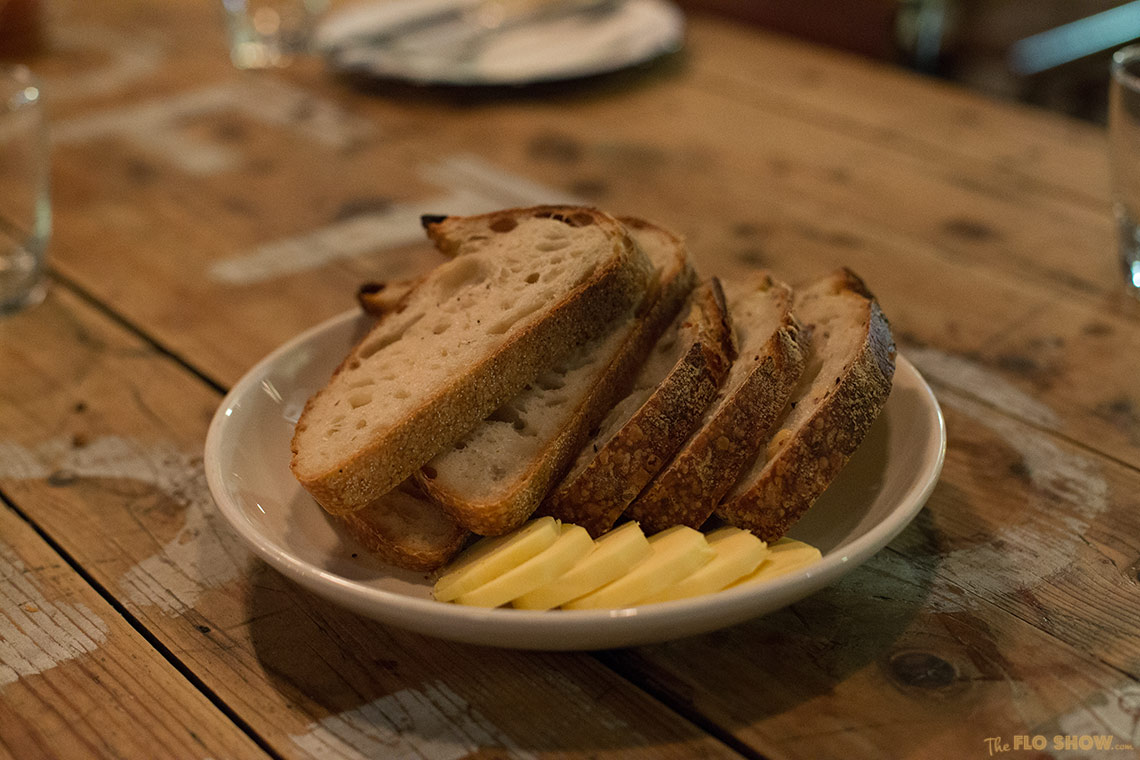 The Stinky Bishops in Newtown - delicious bread on www.TheFloShow.com