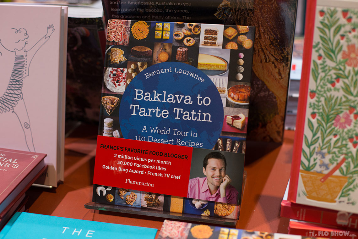 Bookstore review - Better read than dead in Newtown - Baklava to Tarte tatin by Bernard Laurence on www.TheFloShow.com