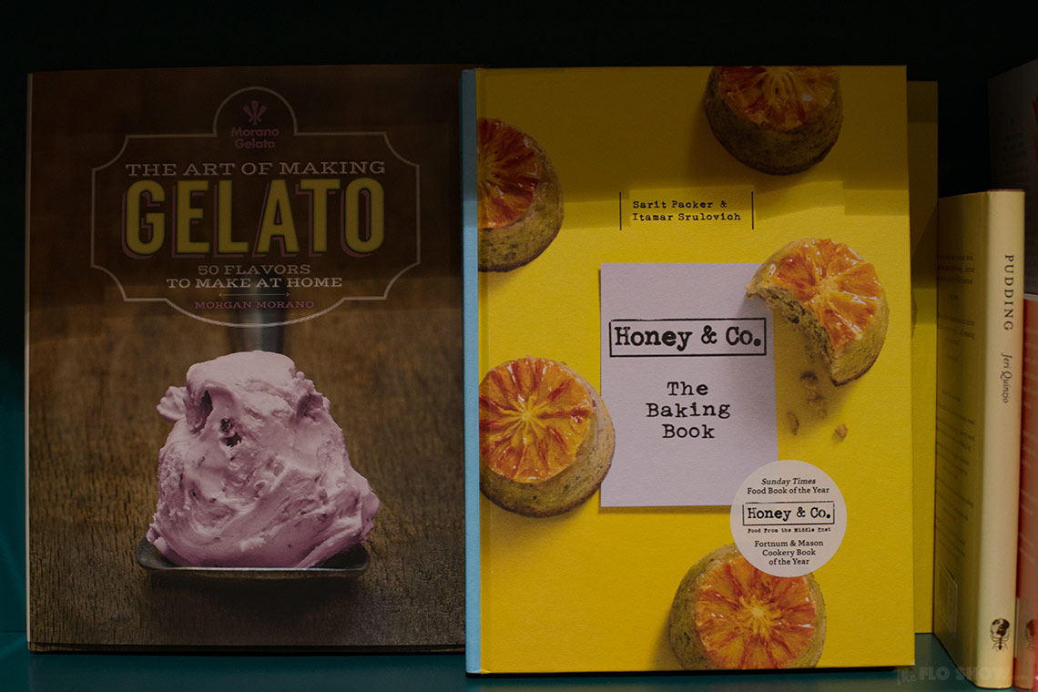 Bookstore review - Better read than dead in Newtown - honey and gelato books on www.TheFloShow.com