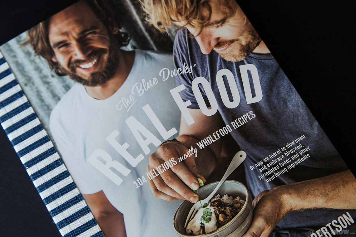 The Blue Duck's REAL FOOD by Mark Labrooy and Derren Robertson - beautiful and clever coobook on www.TheFloShow.com