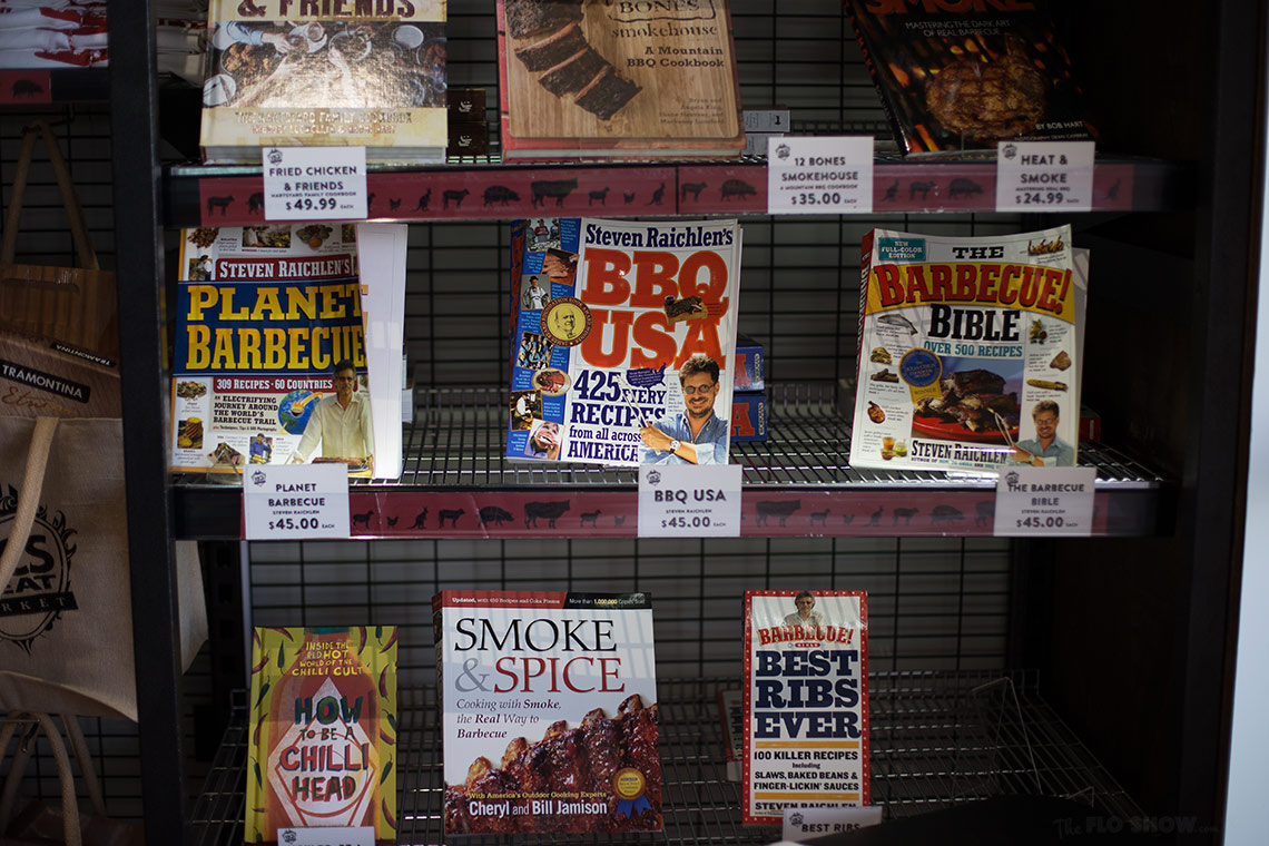 Vic's Meat Market in Sydney - BBQ cookbooks - on www.TheFloShow.com