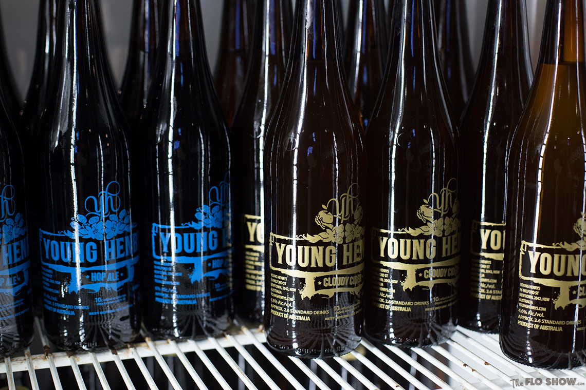 Visit Young Henrys brewery in Newtown - and buy some lovely beer on www.TheFloShow.com