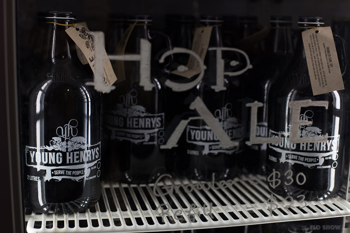 Visit Young Henrys brewery in Newtown - buy lovely beer on www.TheFloShow.com