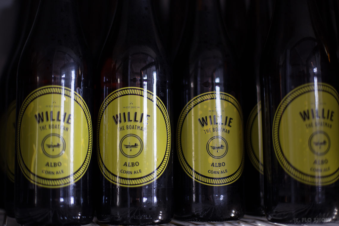 Willie the boatman - Micro Brewery in Saint Peters - Bottled beer sold - on www.TheFloShow.com