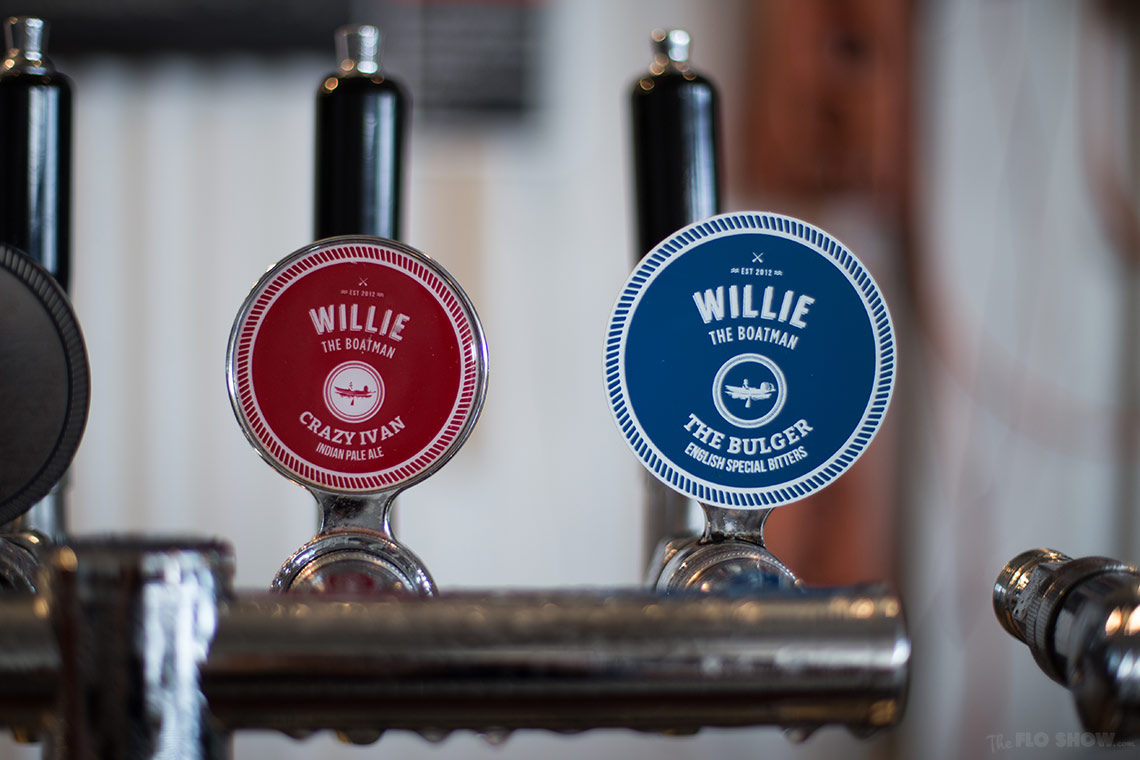Willie the boatman - Micro Brewery in Saint Peters - Beers on tap - on www.TheFloShow.com