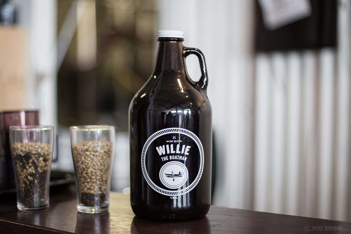 Willie the boatman - Micro Brewery in Saint Peters - Bottled beers- on www.TheFloShow.com