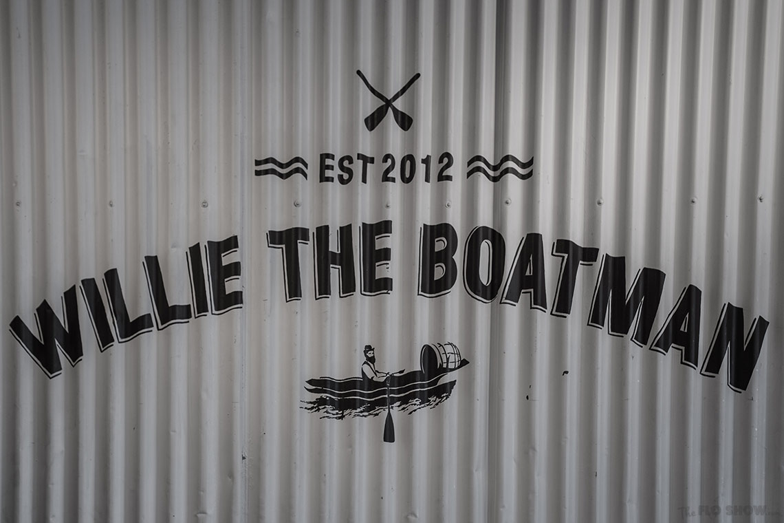 Willie the boatman - Micro Brewery in Saint Peters - on www.TheFloShow.com