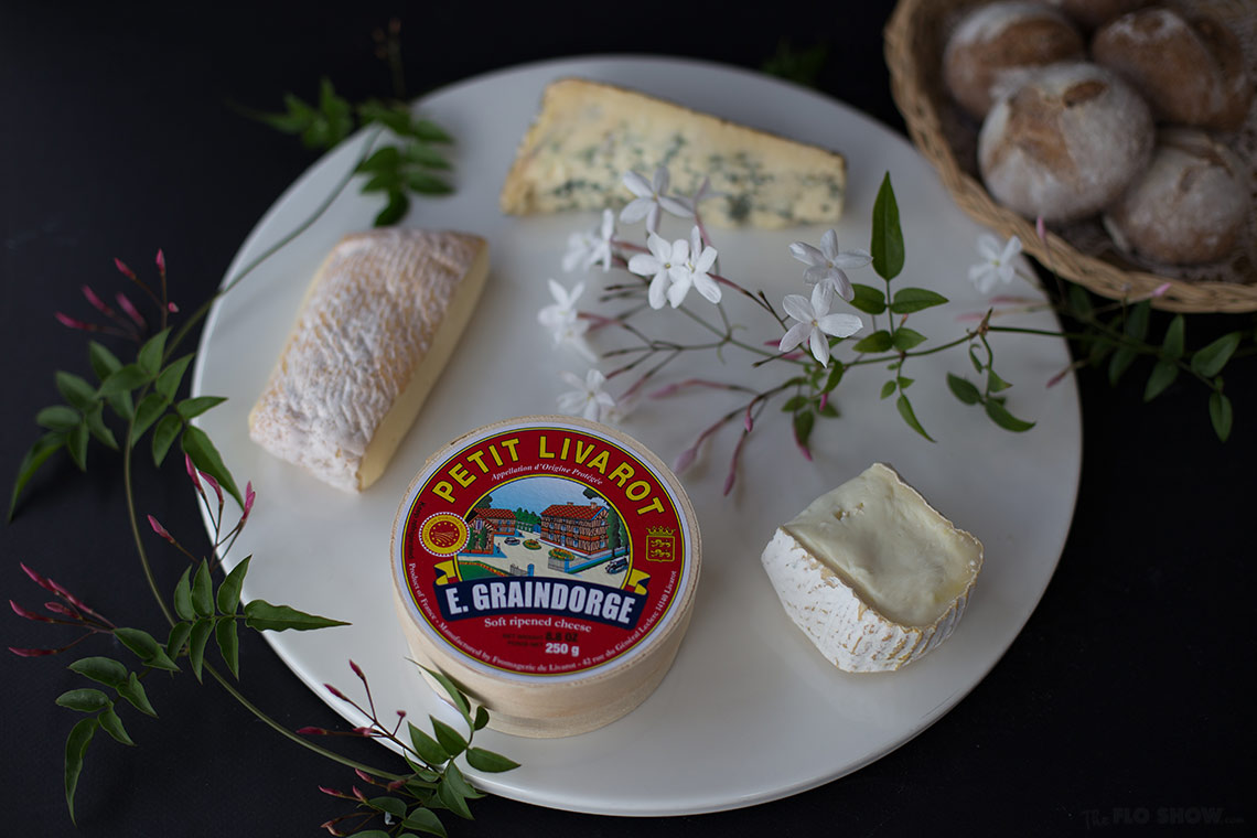A gorgeous cheese platter from Blackwattle Deli at the Fish markets in Sydney - for a tasty pre-dinner drink on www.TheFloShow.com