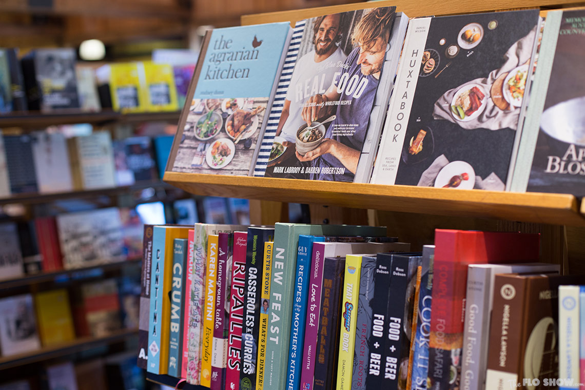 Bookstore review - Berkelouw in Berrima - A good selection of cookbooks on www.TheFloShow.com