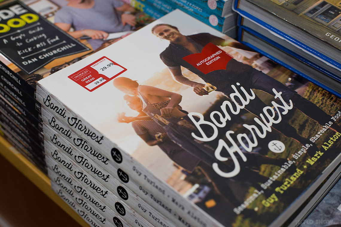 Bookstore review - Dymocks at Broadway Shopping Centre  - Bondi Harvest on www.TheFloShow.com