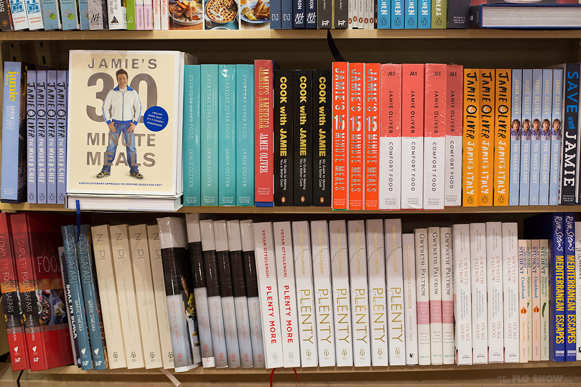Bookstore review - Dymocks at Broadway Shopping Centre  -  Orrolenghi's shelf on www.TheFloShow.com