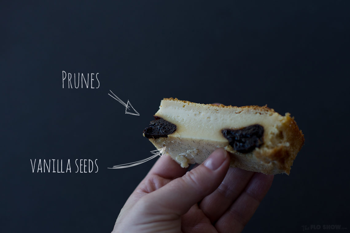 Far Breton recipe - a magic cake with prunes and rum - ultra quick and easy to make - on www.TheFloShow.com