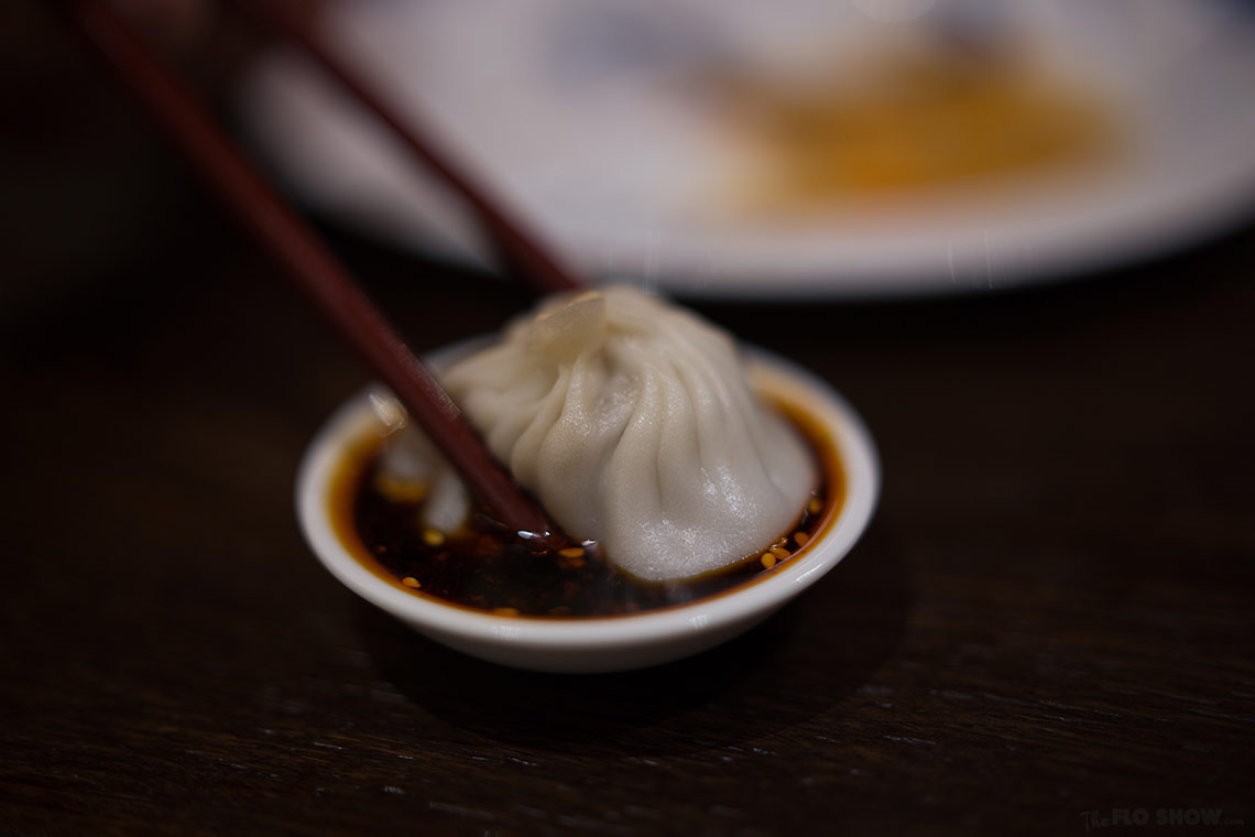 Restaurant review - Dainty dumpling house in Miranda - delicious xiao long bao - on www.TheFloShow.com