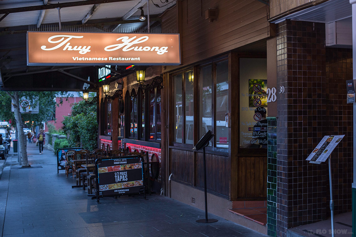 Restaurant review - Thuy Huong in Glebe on www.TheFloShow.com
