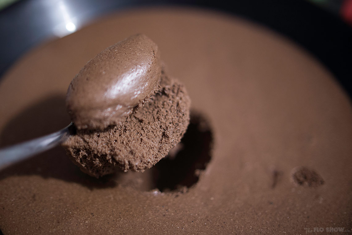2 Ingredients Chocolate Mousse recipe - a winner dessert which takes 10 mins to make on www.TheFloShow.com