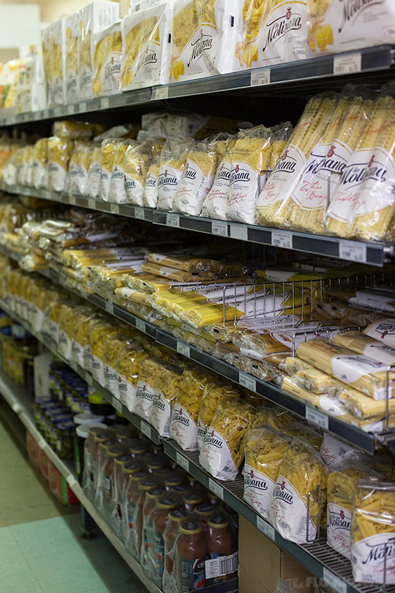 Leisure Coast Fruit Market Wollongong - Italian pasta collection - on www.TheFloShow.com