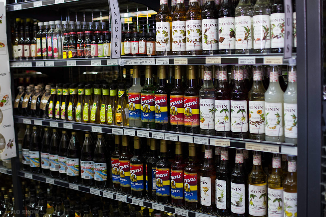 Leisure Coast Fruit Market Wollongong - syrups on www.TheFloShow.com