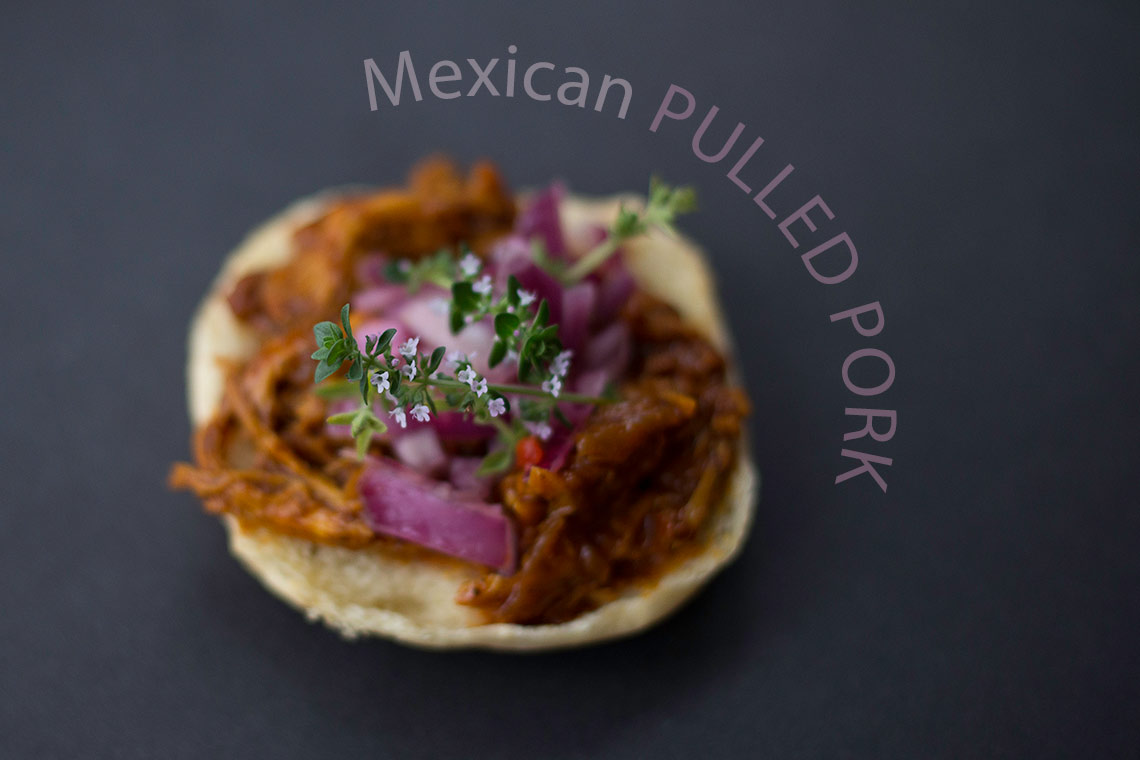 Mexican pulled pork with achiote paste a delicious version of this popular dish on www.TheFloShow.com