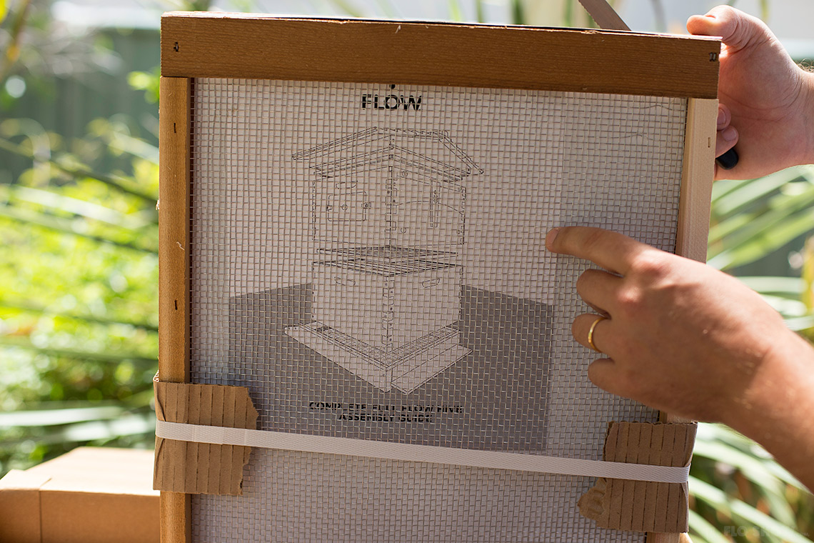 Flow-hive beehive opening - a great first step on www.TheFloShow.com