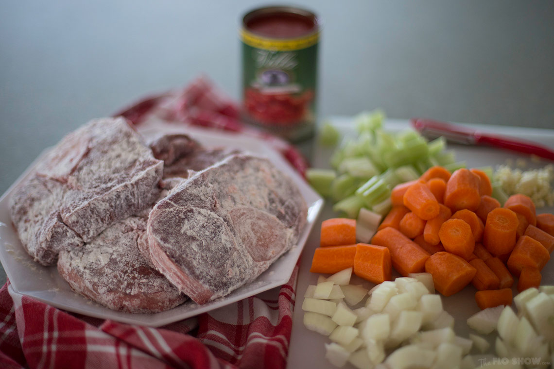 Osso Buco recipe - one of our family's favourite recipe on www.TheFloShow.com
