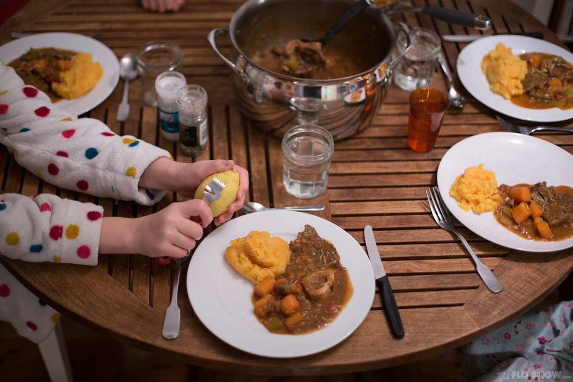 Osso Buco recipe - the perfect family meal on www.TheFloShow.com