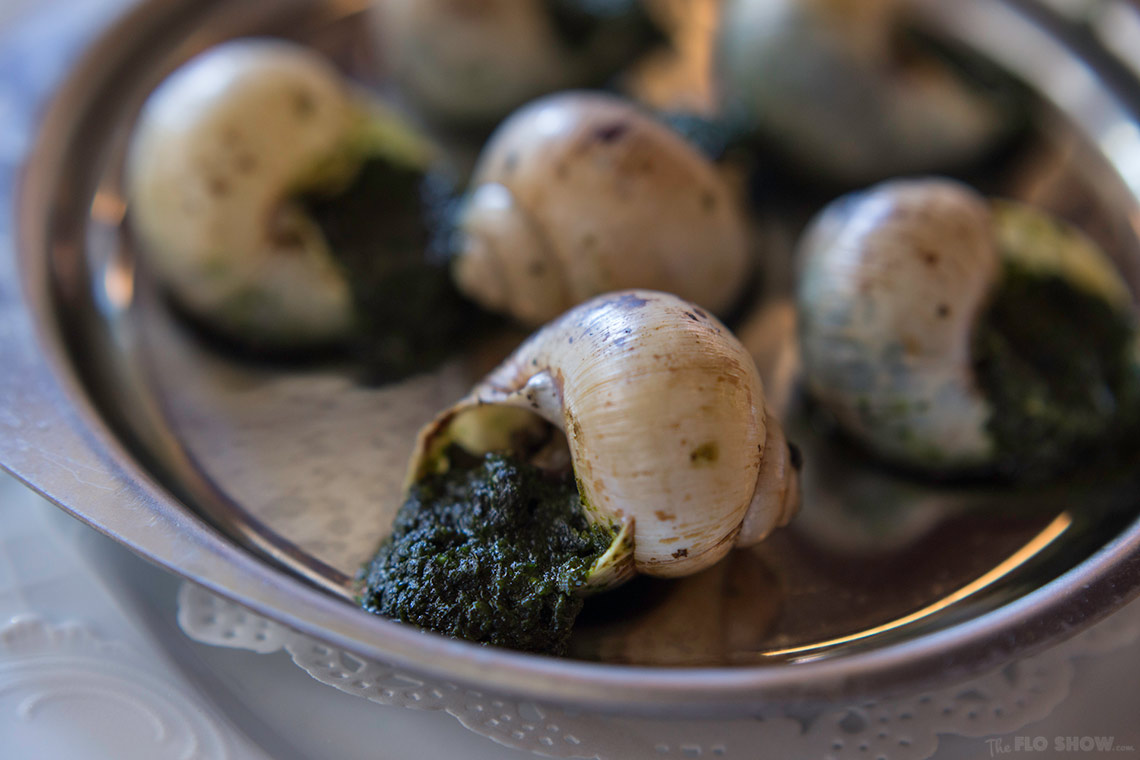 Restaurant review - Bistrot Gavroche in Chippendale - escargots www.TheFloShow.com