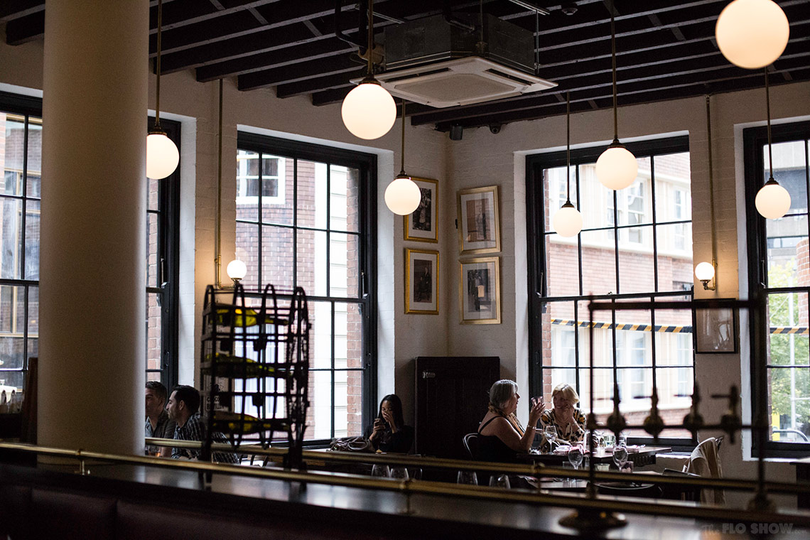 Restaurant review - Bistrot Gavroche in Chippendale - great atmosphere www.TheFloShow.com
