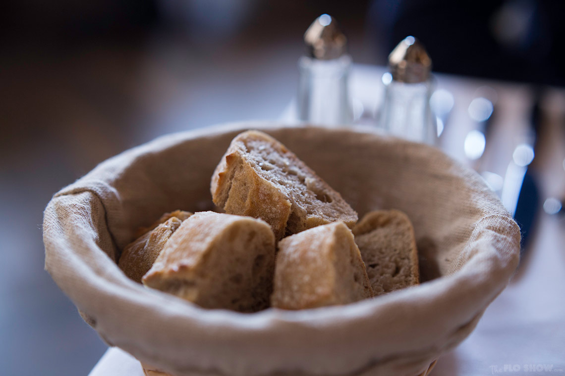 Restaurant review - Bistrot Gavroche in Chippendale - great bread www.TheFloShow.com